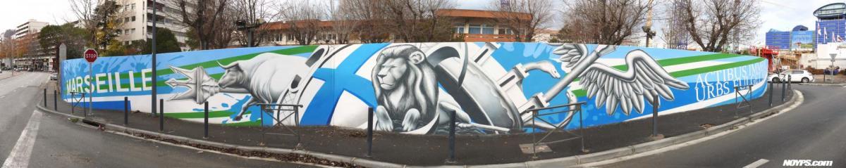 Cma federation noyps street art graffiti marseille
