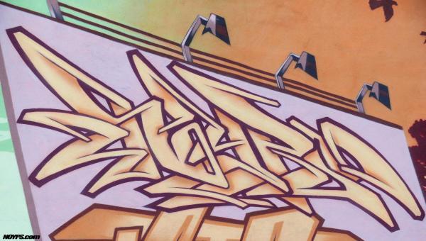 Graffiti noyps marseille 2015 france