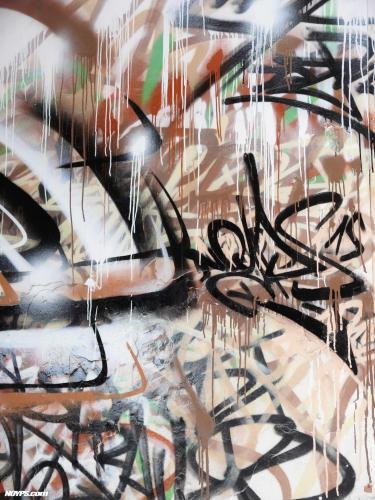 Graffiti street art noyps marseille france 2015