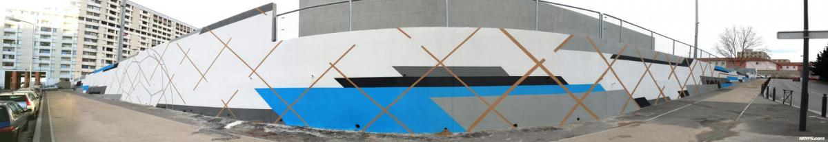 Graffiti street art marseille noyps stade malpasse 2