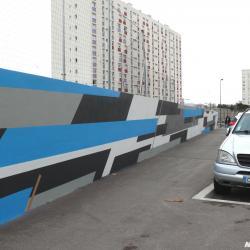 Graffiti street art marseille noyps stade malpasse 6