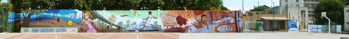Graffiti street art marseille noyps veter