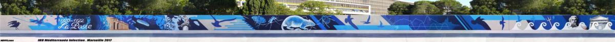 Ihu mediterranee infection noyps street art graffiti marseille a 1