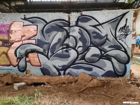 Noyps graffiti marseille france 2021