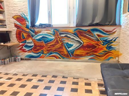 Noyps graffiti marseille france