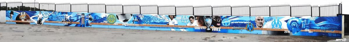 Noyps Veter Daze graffiti street art om wall marseille france